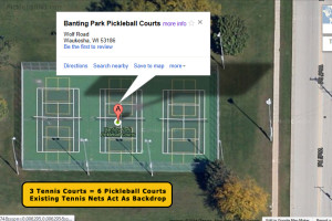 Banting Park Satelite 3 Tennis To 6 Pickleball