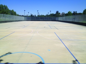 Hockey Rink to Pickleball Court